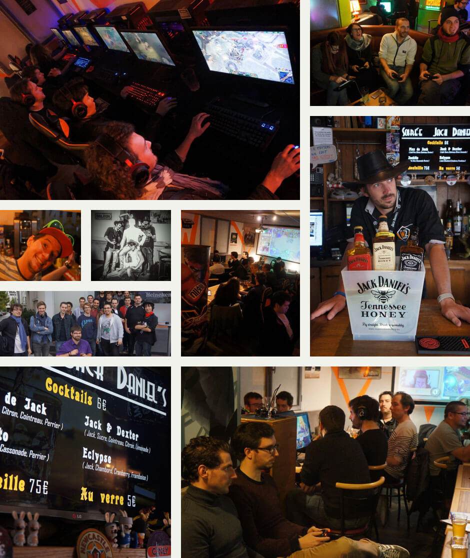 WarpZone eSports bar gamer geek funny video games