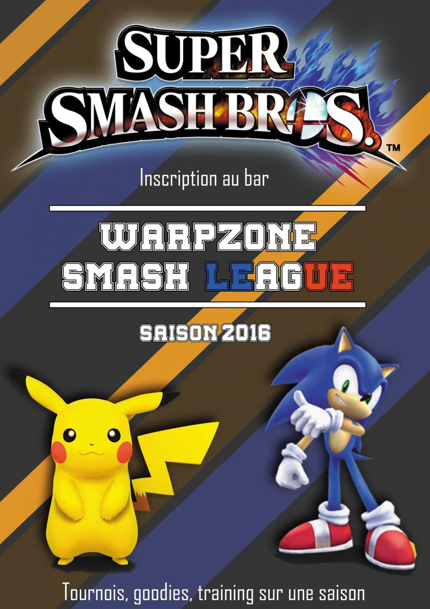 Affiche de la WarpZone Samsh League